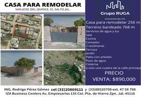 Foto de casa en venta en heliodoro hernandez loza , el quince centro, el salto, jalisco, 0 No. 01