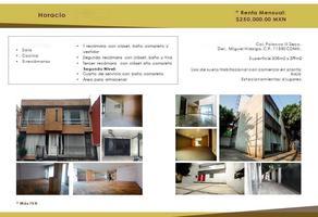 Foto de casa en renta en horacio , polanco iv sección, miguel hidalgo, df / cdmx, 17871497 No. 01