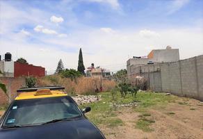 Foto de terreno habitacional en venta en hortensias 25, san ramón 3a sección, puebla, puebla, 0 No. 01