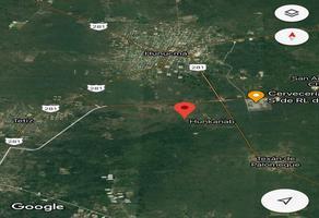 Foto de terreno habitacional en venta en  , huncanab, hunucmá, yucatán, 17228828 No. 01