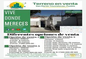 Foto de terreno habitacional en venta en independencia norte , centro, san martín texmelucan, puebla, 12592832 No. 01