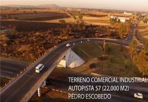 Foto de terreno comercial en venta en  , independencia, pedro escobedo, querétaro, 18905085 No. 01