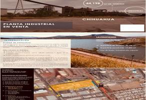 Foto de nave industrial en venta en  , industrial, chihuahua, chihuahua, 18434371 No. 01