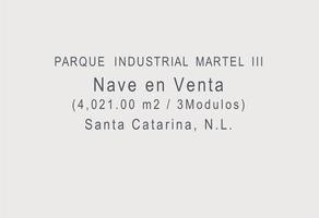 Foto de bodega en venta en  , industrial martel de santa catarina, santa catarina, nuevo león, 19453584 No. 01