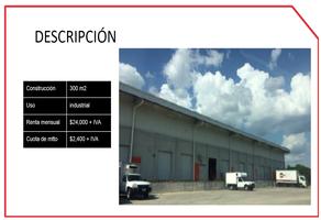 Foto de nave industrial en renta en  , industrias no contaminantes, mérida, yucatán, 14523361 No. 01