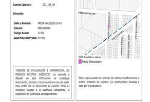Foto de terreno habitacional en venta en  , irrigación, miguel hidalgo, df / cdmx, 18392605 No. 01