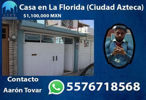 Foto de casa en venta en iztacalco 145, la florida (ciudad azteca), ecatepec de morelos, méxico, 16910308 No. 01