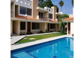 Foto de casa en condominio en renta en  , jacarandas, cuernavaca, morelos, 12737132 No. 01