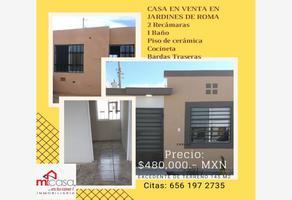 Foto de casa en venta en  , jardines de roma, juárez, chihuahua, 0 No. 01
