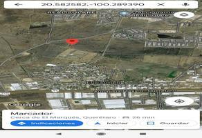Foto de terreno habitacional en venta en jose guadalupe ramirez 5, el cerrito, el marqués, querétaro, 0 No. 01