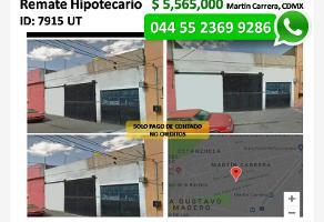 Foto de bodega en venta en josé joaquin herrera 146, martín carrera, gustavo a. madero, distrito federal, 6516852 No. 01