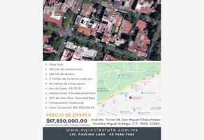 Foto de terreno comercial en venta en josé ma. tornel 68, san miguel chapultepec i sección, miguel hidalgo, df / cdmx, 14039078 No. 01