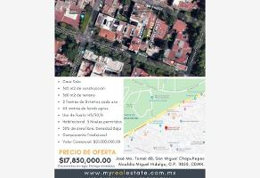 Foto de terreno comercial en venta en josé ma. tornel 68, san miguel chapultepec ii sección, miguel hidalgo, df / cdmx, 0 No. 01