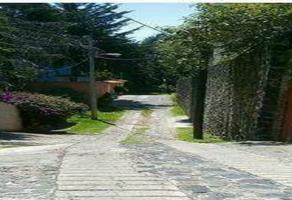 Foto de terreno habitacional en venta en jose maria morelos , san andrés totoltepec, tlalpan, df / cdmx, 18458703 No. 01