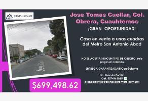 Foto de casa en venta en jose tomas cuellar 00, obrera, cuauhtémoc, df / cdmx, 12223969 No. 01