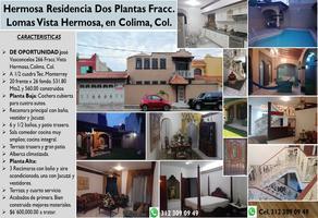 Foto de casa en venta en josé vasconcelos 266, colima centro, colima, colima, 0 No. 01