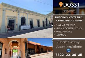 Foto de casa en venta en juarez 169, hermosillo centro, hermosillo, sonora, 17268970 No. 01