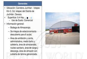 Foto de bodega en venta en  , juchitan centro, heroica ciudad de juchitán de zaragoza, oaxaca, 16960284 No. 01