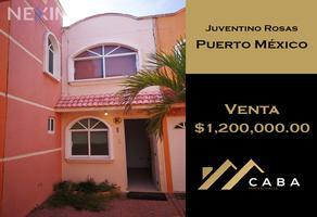 Foto de casa en venta en juventino rosas , puerto méxico, coatzacoalcos, veracruz de ignacio de la llave, 12077319 No. 01