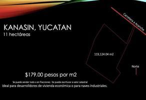 Foto de terreno habitacional en venta en  , kanasin, kanasín, yucatán, 17746730 No. 01