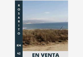 Foto de terreno habitacional en venta en kilómetro 42 0, colinas de rosarito 1a. sección, playas de rosarito, baja california, 18821027 No. 01