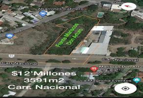 Foto de terreno comercial en venta en kilometro , la ciénega, santiago, nuevo león, 0 No. 01