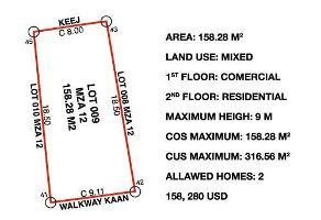 Foto de terreno comercial en venta en koes y andador kaan , tulum centro, tulum, quintana roo, 7983240 No. 01