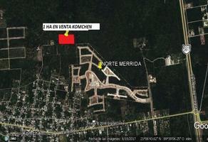 Foto de terreno comercial en venta en  , komchen, mérida, yucatán, 5512815 No. 01