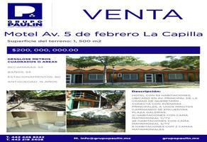 Foto de edificio en venta en  , la capilla, querétaro, querétaro, 6603168 No. 01