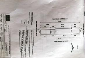 Foto de terreno habitacional en venta en  , la conchita zapotitlán, tláhuac, df / cdmx, 15815639 No. 01