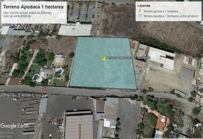 Foto de terreno industrial en venta en  , la encarnación, apodaca, nuevo león, 19420139 No. 01