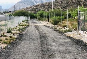 Foto de terreno habitacional en venta en  , la huasteca 1er sect, santa catarina, nuevo león, 0 No. 01