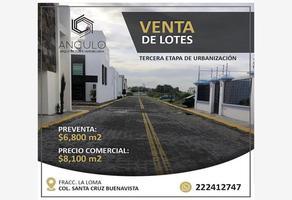 Foto de terreno habitacional en venta en la loma 222, santa cruz buenavista, puebla, puebla, 0 No. 01
