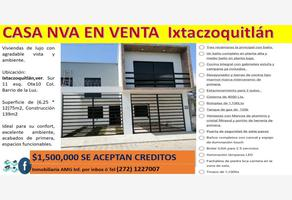 Foto de casa en venta en  , la luz, ixtaczoquitlán, veracruz de ignacio de la llave, 0 No. 01