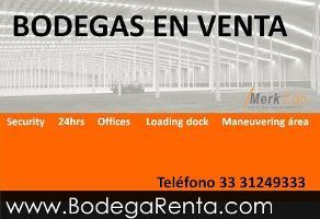 Foto de nave industrial en venta en  , la nogalera, guadalajara, jalisco, 6806492 No. 01