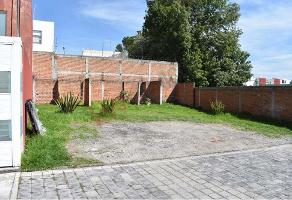 Foto de terreno habitacional en venta en la pustinia 3102, santiago momoxpan, san pedro cholula, puebla, 0 No. 01