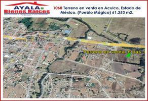 Foto de terreno comercial en venta en  , la soledad, aculco, méxico, 9355026 No. 01