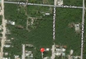 Foto de terreno habitacional en venta en la veleta , tulum centro, tulum, quintana roo, 0 No. 01