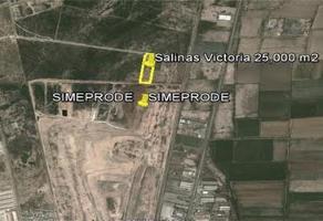 Foto de terreno habitacional en venta en  , la victoria, salinas victoria, nuevo león, 11800477 No. 01