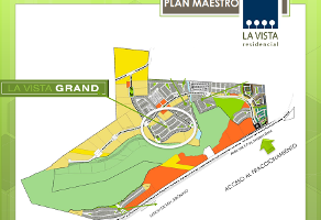 Foto de terreno habitacional en venta en la vista grand , vista alegre 2a secc, querétaro, querétaro, 14290943 No. 01