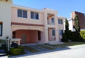 Foto de casa en condominio en renta en la vista , la vista contry club, san andrés cholula, puebla, 10439990 No. 01