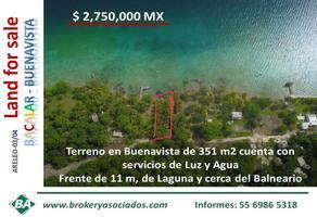 Foto de terreno comercial en venta en laguna buenavista - bacalar , buenavista, bacalar, quintana roo, 0 No. 01