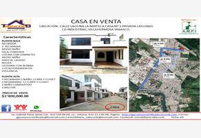 Foto de casa en venta en laguna la mixteca 3, villahermosa centro, centro, tabasco, 9116452 No. 01