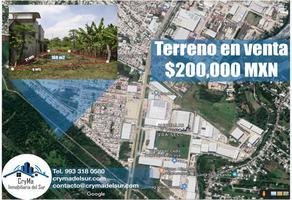 Foto de terreno habitacional en venta en lagunas lagunas, lagunas, centro, tabasco, 9476207 No. 01