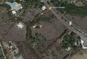 Foto de terreno comercial en renta en  , las misiones, santiago, nuevo león, 14650300 No. 01