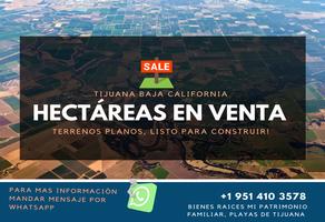 Foto de terreno comercial en venta en  , las palmas, tijuana, baja california, 21851203 No. 01