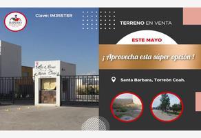 Foto de terreno habitacional en venta en las rosas , santa bárbara, torreón, coahuila de zaragoza, 0 No. 01