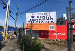 Foto de terreno comercial en renta en lateral norte recta a cholula puebla 1601, santiago momoxpan, san pedro cholula, puebla, 15570485 No. 01