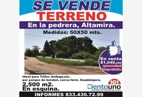 Foto de terreno habitacional en venta en lazaro cardenas 101, la pedrera, altamira, tamaulipas, 15553850 No. 01
