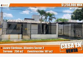 Foto de casa en venta en lázaro cárdenas 117, tampico altamira sector 2, altamira, tamaulipas, 0 No. 01